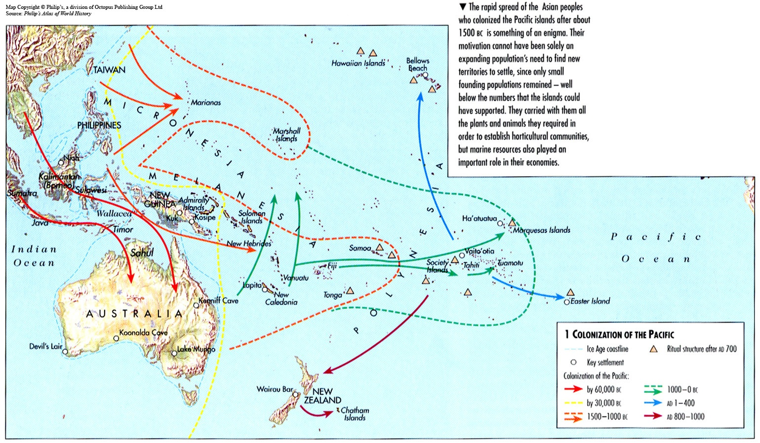 Exploration And Colonization TranspacificProjectcom - Us pacific islands map