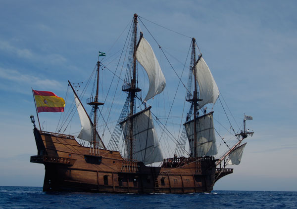 Transpacific boats and ships transpacificproject spanish galleon replica andalucia publicscrutiny Choice Image